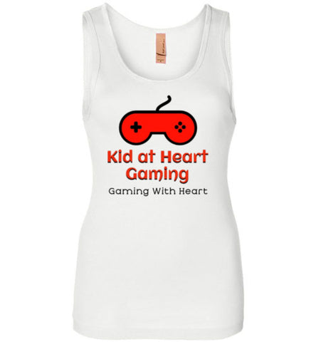 Kid at Heart Gaming Ladies Premium Logo Tank