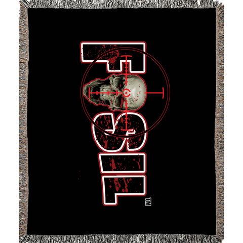 Fosil Gaming Woven Blanket