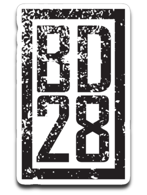 bogdog28 Sticker
