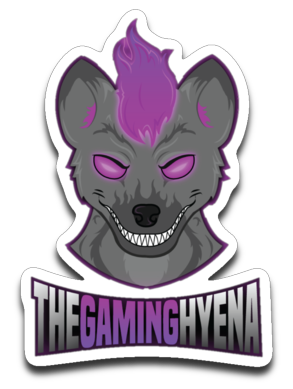 Gaming Hyena Logo Sticker