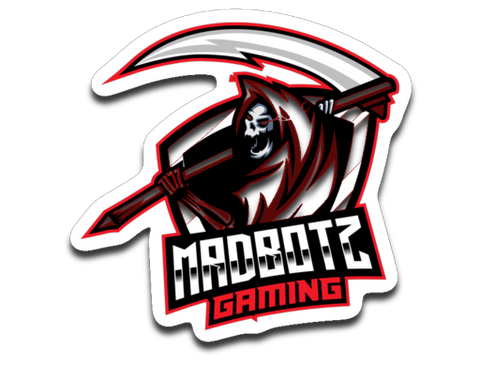 MadBotzGaming Sticker