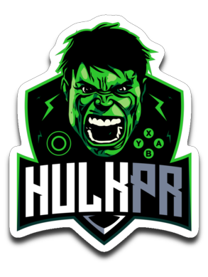 Hulkpr Sticker