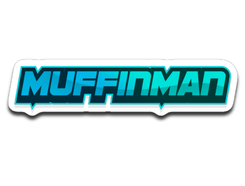 Muffinman Streams Sticker