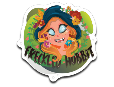 FreckledHobbit Sticker