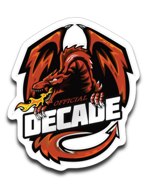 Decade Sticker