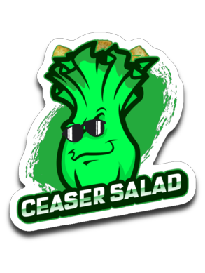 CeaserSalad Gaming Decal