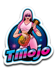 TMojo Logo Sticker