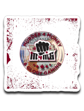 Murder 4 Money & Glory Gaming Sticker