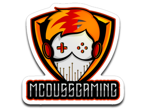 McDussGaming Logo Sticker