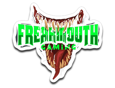 Freakmouth Gaming Sticker