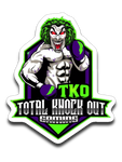 Jokerslastdance Total Knock Out Sticker