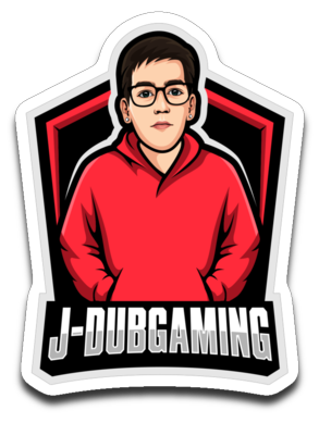 JDub Gaming Sticker