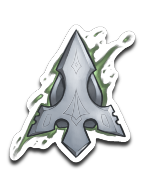 Green Arrow Gaming Sticker