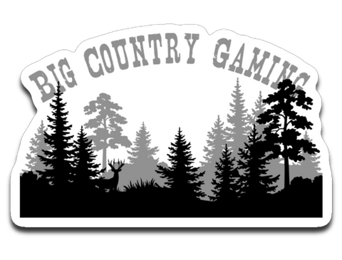 Big Country Gaming Sticker