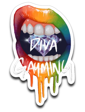 Diva Gayming Lips Sticker