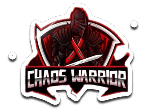 ChaosWarrior Gaming Sticker
