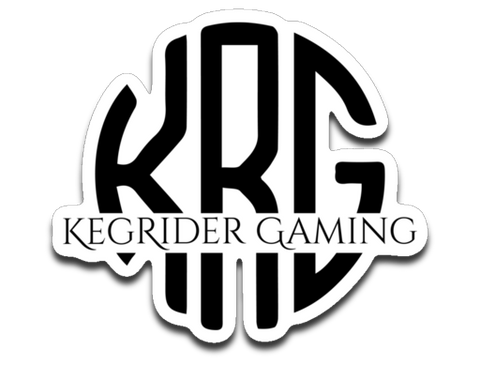 kegrider gaming Sticker