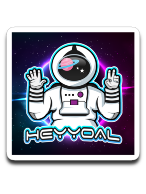 HEYYOAL Sticker