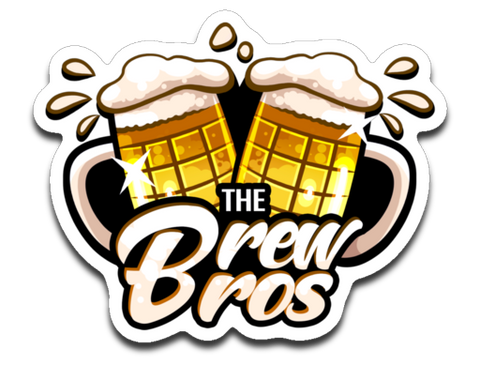 The Brew Bros Logo Sticker