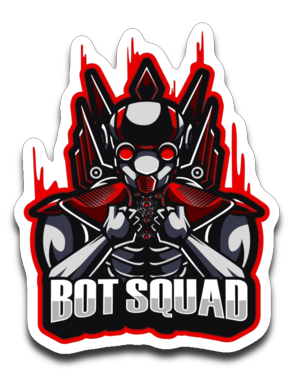 BOTS 101 Logo Sticker