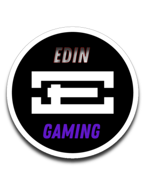 EdinGaming Sticker