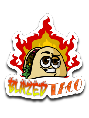 BlazedTaco Sticker
