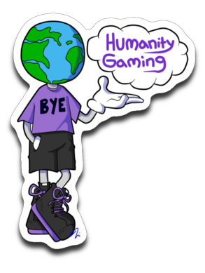 Bye Humanity Sticker