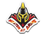 Master At Arms Logo Sticker