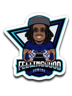 FGGaming Logo Sticker