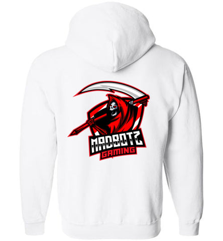MadBotzGaming Zip-Up Logo Hoodie