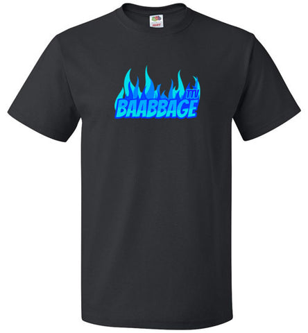 Baabbage Blue Flame Tee