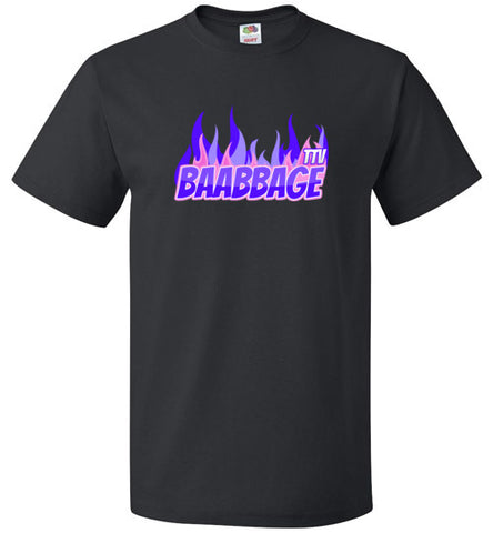 Baabbage Purple Flame Tee