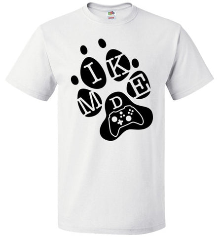 Mike D Gaming Black Logo Tee