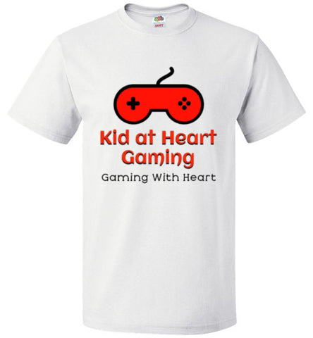 Kid at Heart Gaming Logo Tee