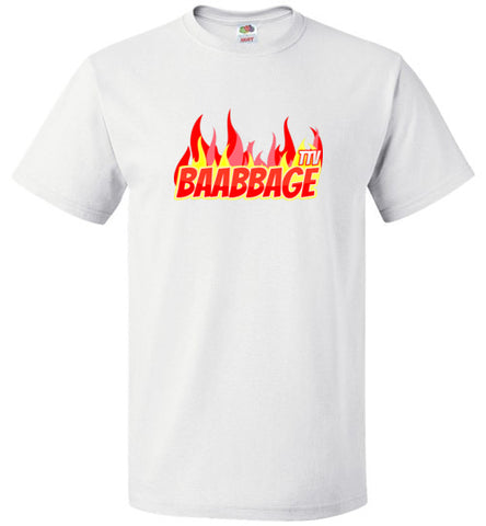 Baabbage Red Flame Tee