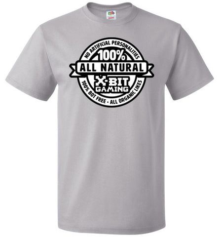 X-Bit Gaming 100% Natural Tee