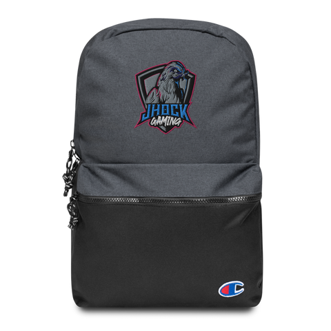 JHock Embroidered Champion Backpack