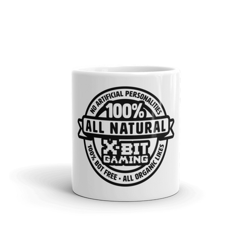 X-Bit Gaming 100% Natural Mug