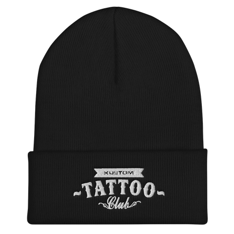 KUSTOM TATTOO CLUB Beanie