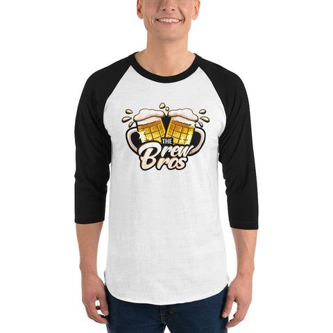 The Brew Bros Logo Baseball Tee