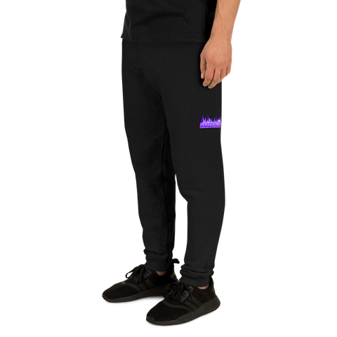Baabbage Purple Flame Joggers