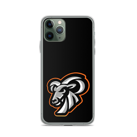 Goat Nightmare Gaming Logo iPhone Case