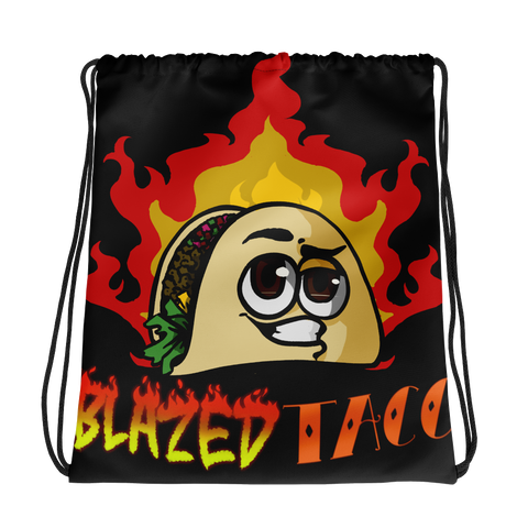 BlazedTaco Drawstring bag