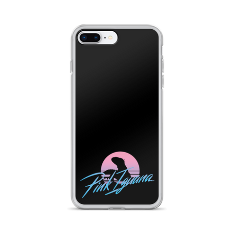 PinkIguana Sunset iPhone Case