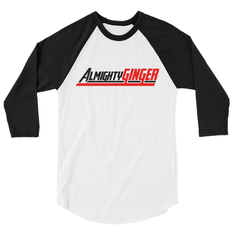 Almighty Ginger Baseball Tee