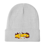 CheddarYikes Ripped Beanie