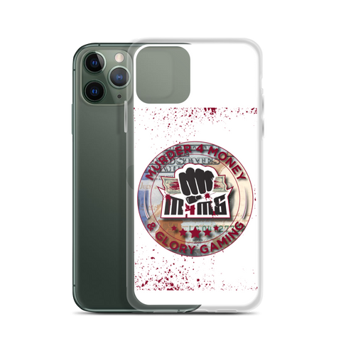Murder 4 Money & Glory Gaming iPhone Case