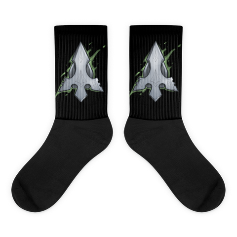 Green Arrow Gaming Socks