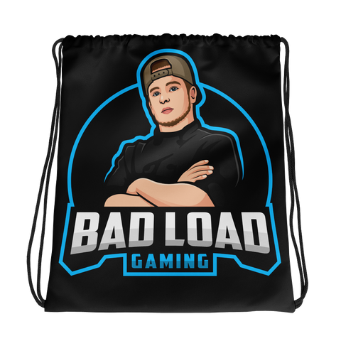 Bad Load Gaming Drawstring bag