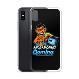 Angry Monkey Gaming Logo iPhone Case